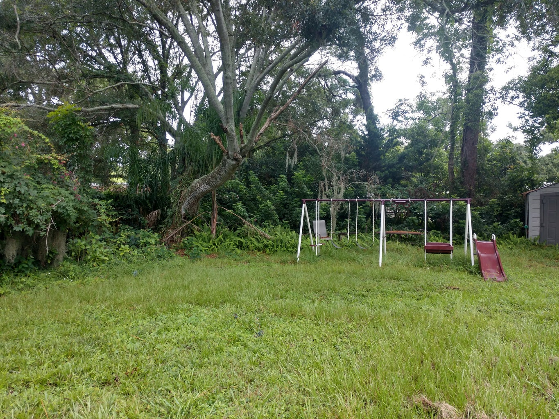 Backyard Before Project Began