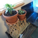 3D Printed Home Decor - Plant Boosters/Risers