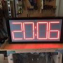 Large 7 Segment LED Pace Clock
