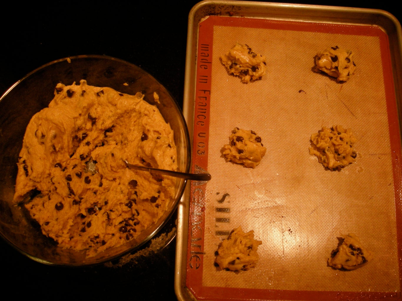 Chocolate Chip French Vanilla Pudding Cookies