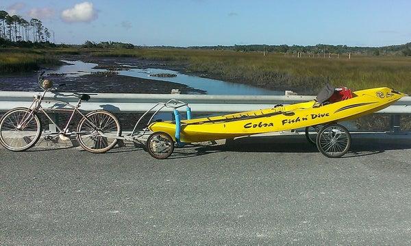 Bicycle Kayak Trailer