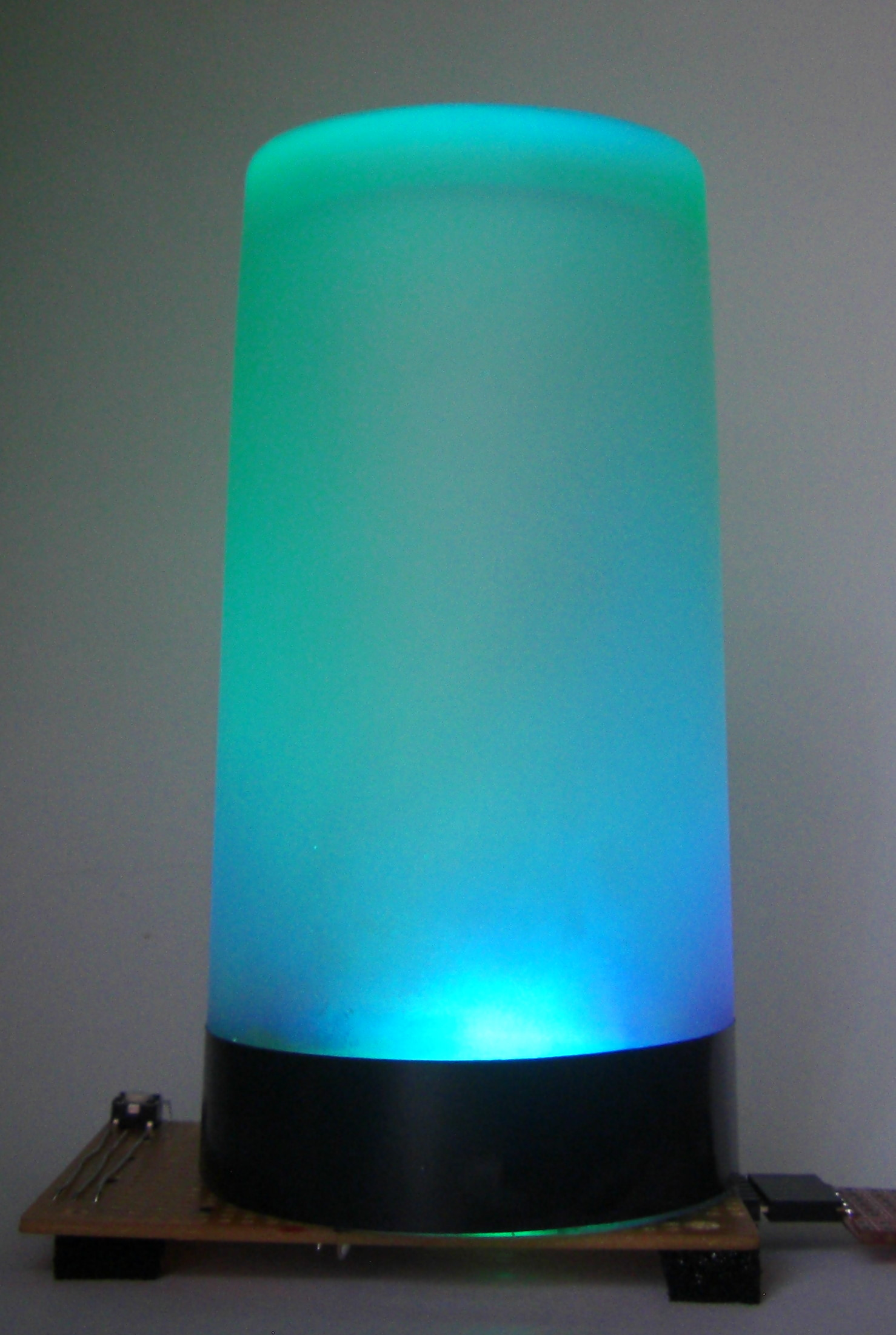 Arduino multi-mode lamp with soft touch switch