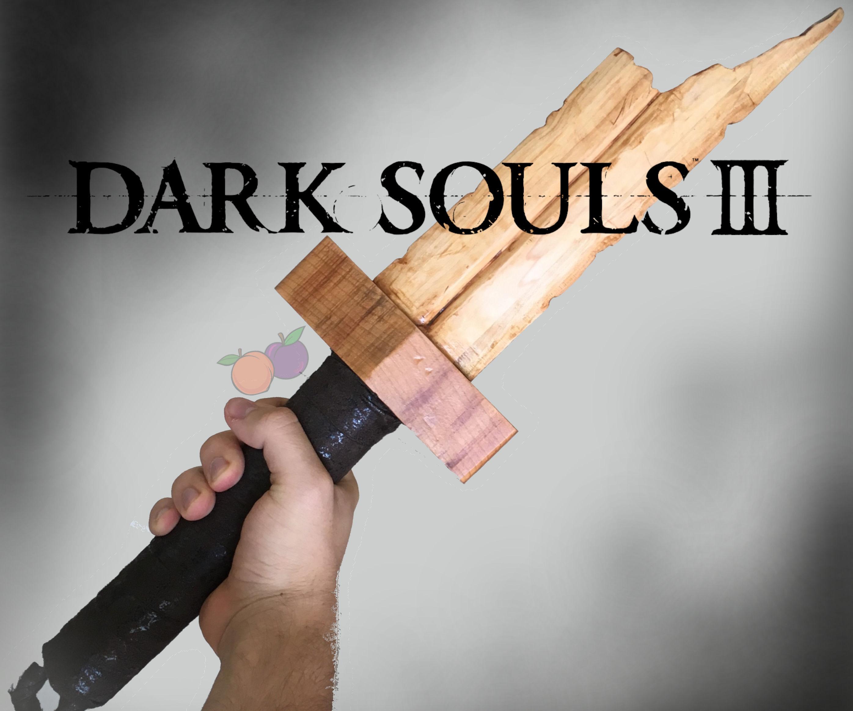 Wooden Broken Straight Sword (DS3)