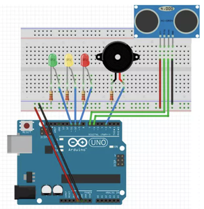 Setup the Whole Thing in the Arduino Breadboard
