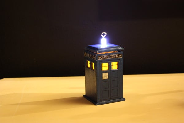 DIY TARDIS Ornament