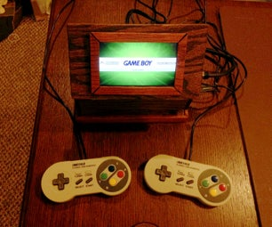 Piulator Portable Game System Via Raspberry Pi