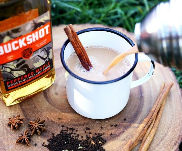 Maple Bourbon Chai Toddy