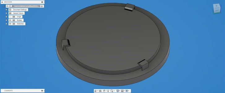 Designing the Base: the Bottom Piece
