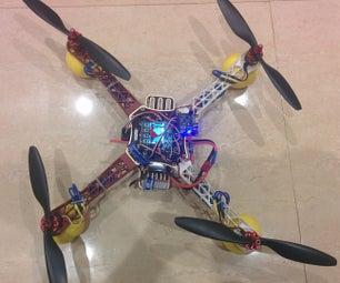 Quadcopter Using KK 2.15 Module