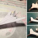 mini paper airplanes