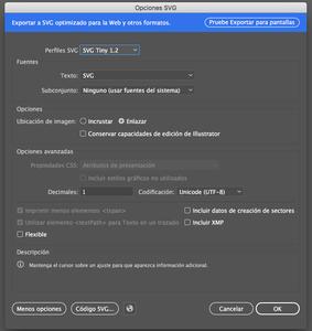 Save You New SVG Files Using Adobe Ilustrator