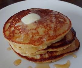 Fluffy Quinoa-Ricotta Zesty Pancakes