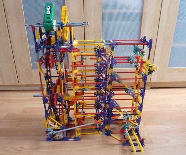Push Lift, a Knex Ball Machine Lift