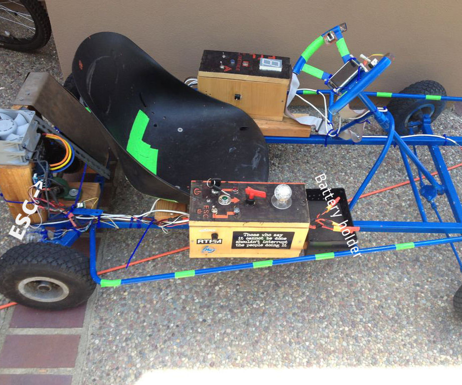 Electric Arduino Go-kart
