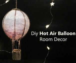 DIY Hot Air Balloon Room Decor