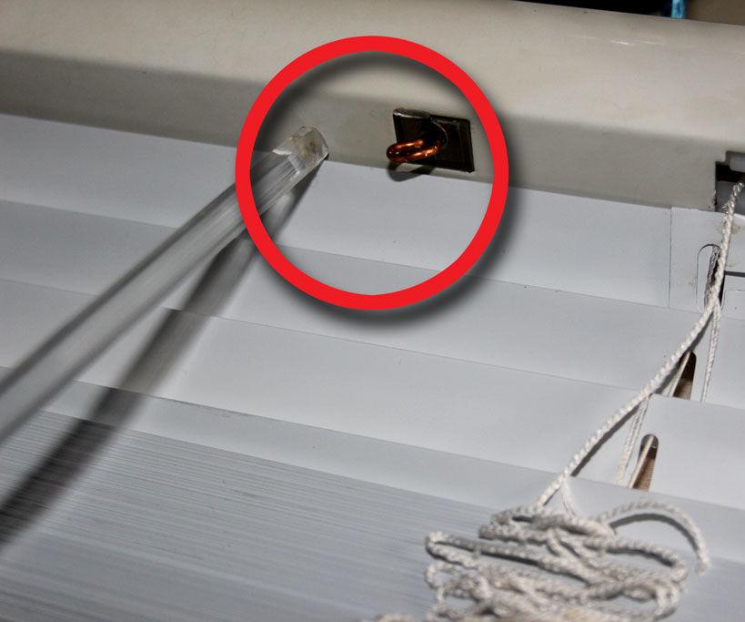 Fix Venetian Blind's Adjuster-Gears