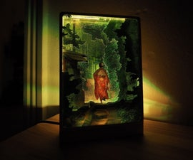 Glowing Diorama