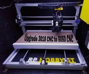 3018 CNC Machine Upgrade to 5050 CNC Machine