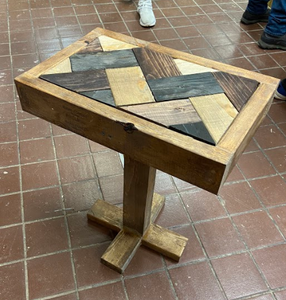 2x4 Table by Andy Rishi and Ben