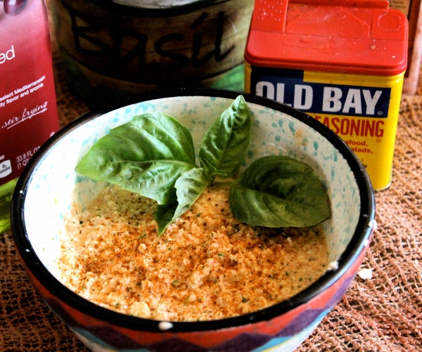 Crab-Less Crab Dip (Candida Free Recipe)