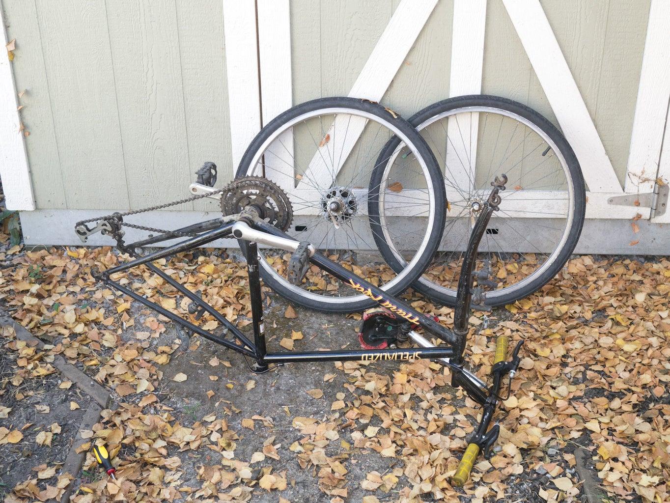 Start Stripping the Bike