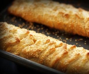 Fast N Fancy Hot Braided Crescent Sandwich