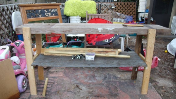 The 1 Hr Bench From Recycled Materials