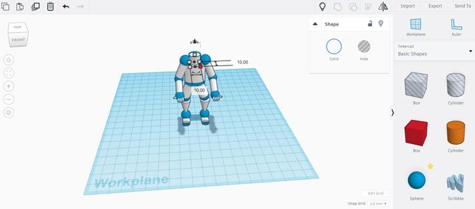 Adding Robot