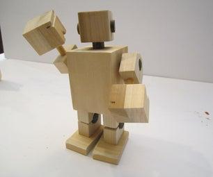 木制机器人