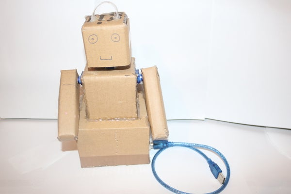 CardBoard the Hero (Solar Powered)
