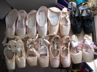 How I Prepare Pointe Shoes