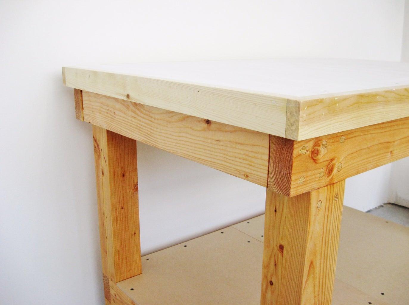 Simple Workshop Cart (with Hidden Drawer)