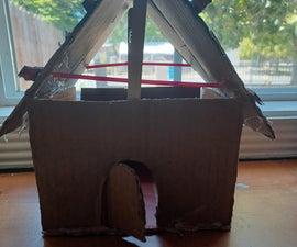 如何制作纸板屋