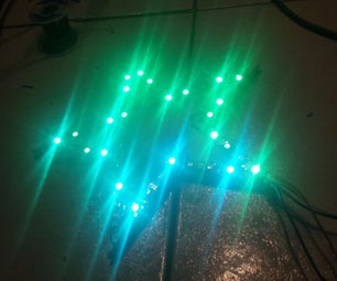 Glowing Led Christmas Tree Topper