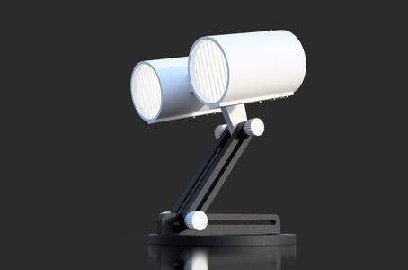 """Lamp """"DuoLux"""" - LED 12V - 3D Printed"""
