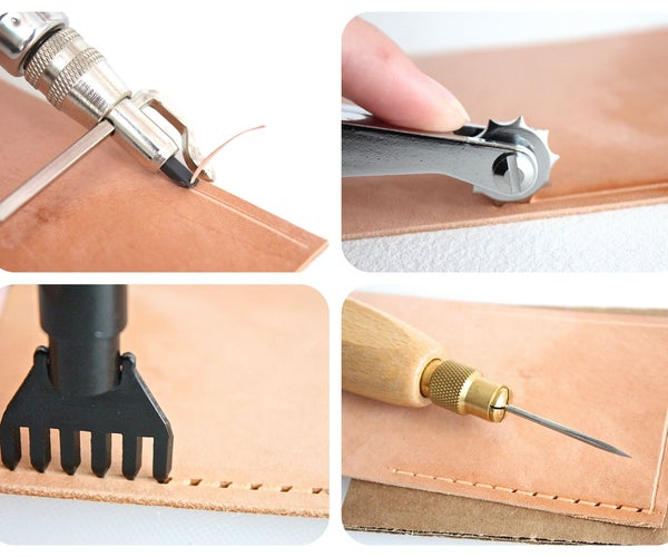 How to Prepare Leather for Sewing