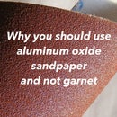 Why You Should Use Aluminum Oxide Sandpaper