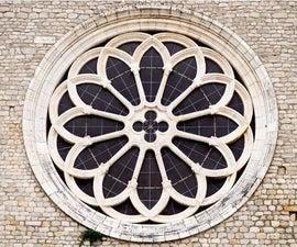 编码遗产:Valvisciolo Abbey的玫瑰窗