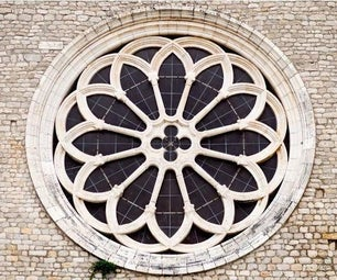 Coding the Heritage: Rose Window of Valvisciolo Abbey