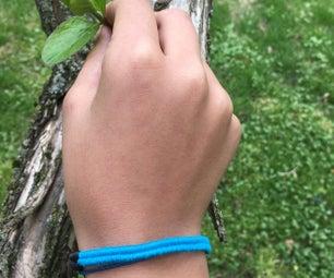 DIY Herringbone Bracelet