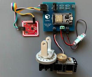 Smart Balcony Shade Using NFC