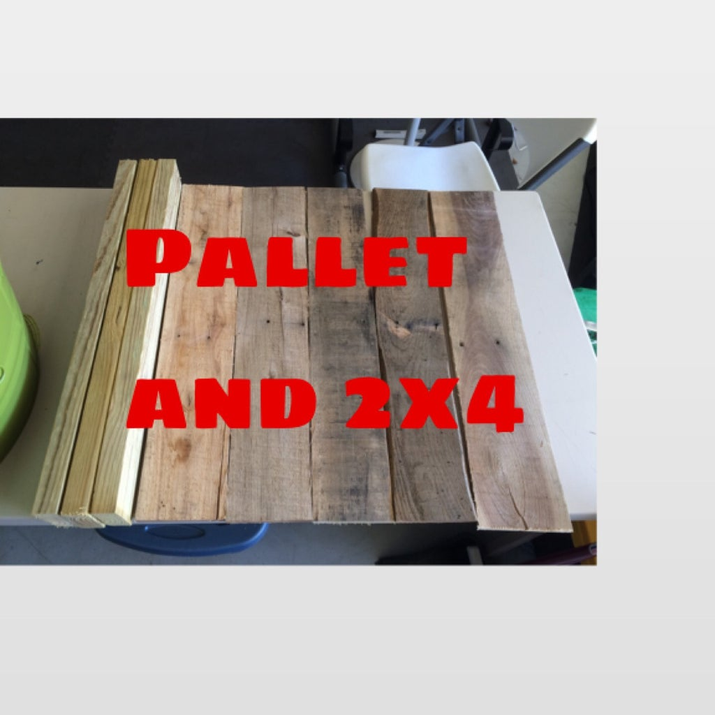 Update and Extras: Pallet Base and Paint