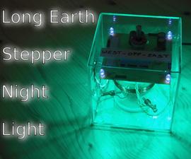 """""""Long Earth"""" Stepper Night Light"""