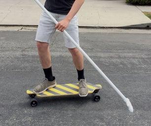 DIY Land-paddle Board
