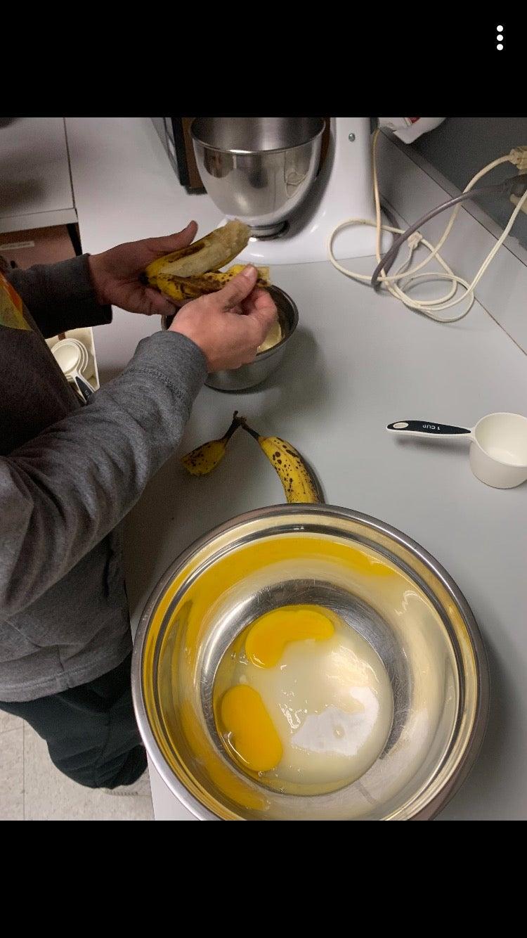 Banana Bread Food Lab