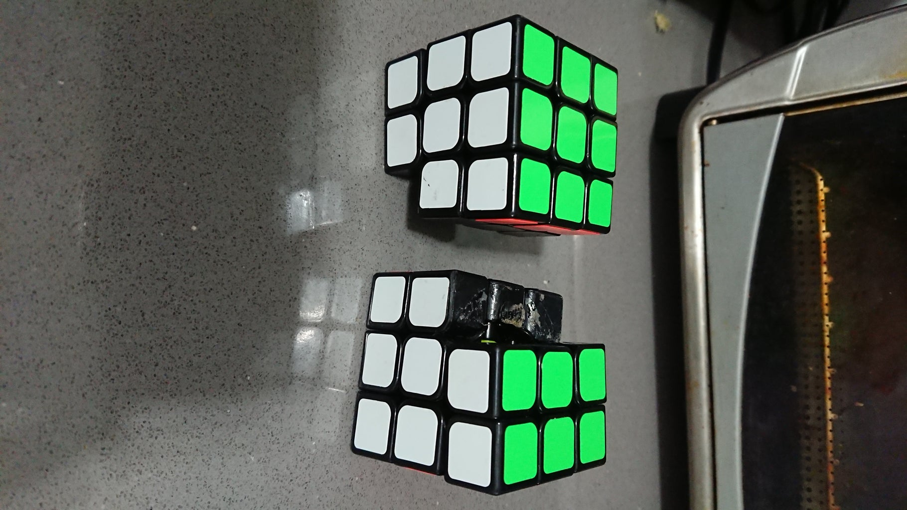 Align the 2 Cubes