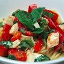 Tomato, Basil, and Mozzarella Chilled Pasta Recipe