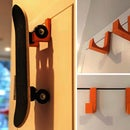 3D-Printed Skateboard Hook