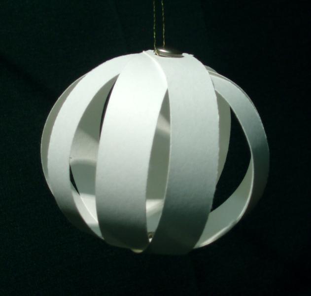 Easy Dimensional Christmas Ornament