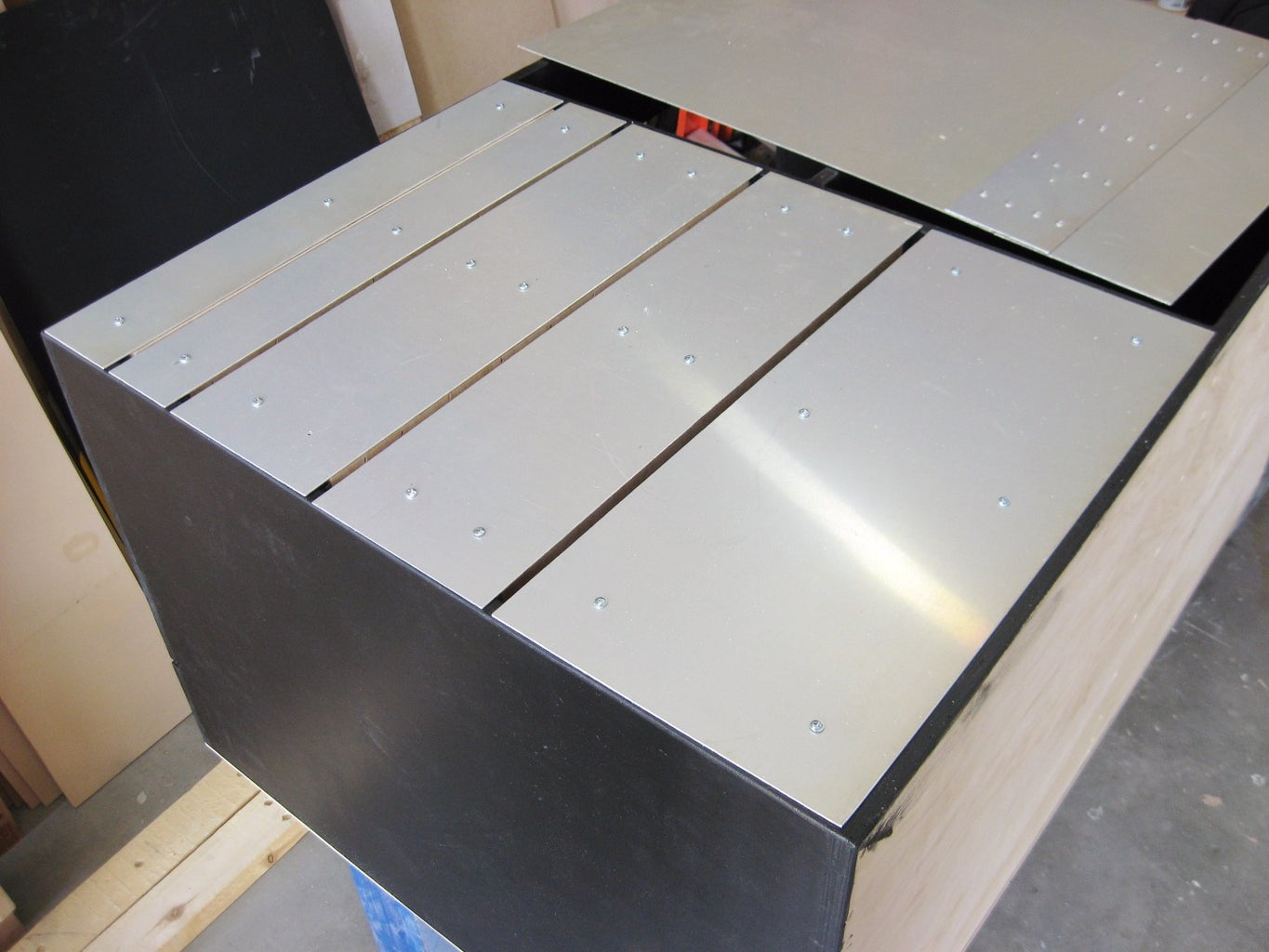 Add Drawer Faces, Door, and Hardwear